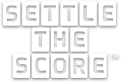 Settle The Score® Logo