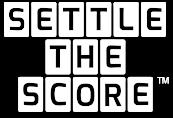 Settle The Score® Logo